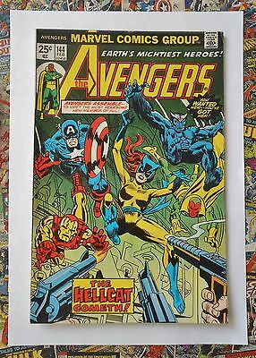 AVENGERS #144 - FEB 1976 - 1st HELLCAT APPEARANCE - FN+ (6.5) CENTS COPY!