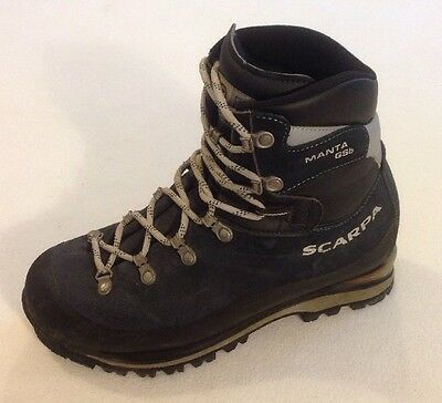 Womens SCARPA Manta Gsb Walking Hiking Mountaineering Boots UK 6 'WATERPROOF'