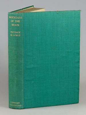 Patrick M. Synge - Mountains of the Moon, 1937, first edition