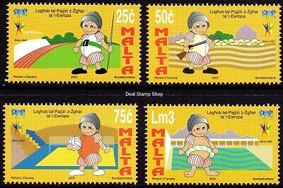 Malta 2003 Games of Small European States Complete Set SG1306-9 Unmounted Mint