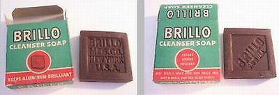 Brillo Cleanser Soap from the 1940's