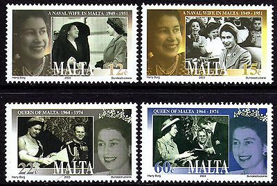 Malta 2003 50th Anniversary of Coronation Complete Set SG1310-3 Unmounted Mint