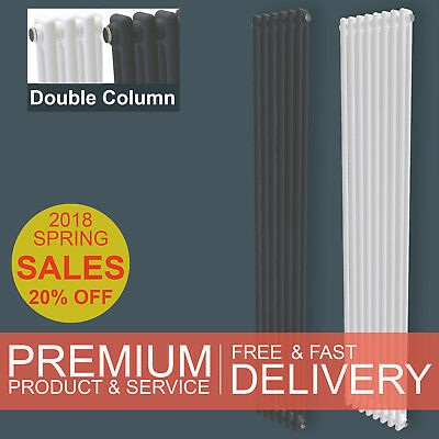Vertical Traditional Upright 2 / Two Column Radiator Victorian Style SimpleHome™
