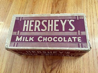 Vintage Hershey's Milk Chocolate Candy Bar Box Item 170