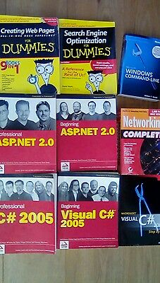 Job lot of computer programming books. Collection from B74