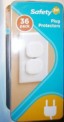 SAFETY 1st PLUG PROTECTORS~36 Count~USA Seller~NEW~Free 1ST CLASS Shipping