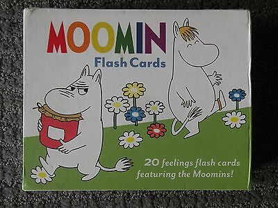 Moomin Character Flash Card Set About Feelings/Emotions Adorable Unique