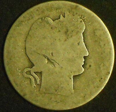 NO Date Silver Barber Quarter. Free Shipping!!!!!!!!!!!!!!