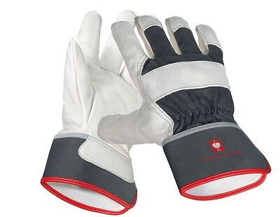Engelbert Strauss narbenleder-handschuhe Platinum Working Gloves Construction