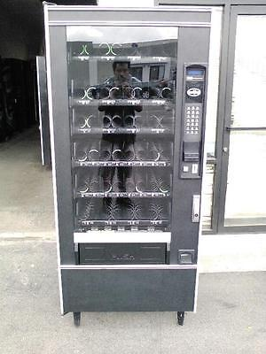 Crane National Vendors 158 Snack Vending Machine With 1 & 5 Bill Acceptor