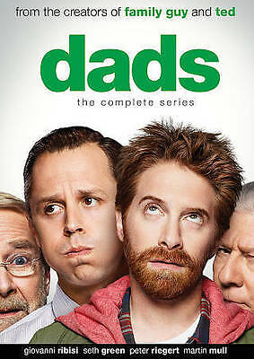 Dads: The Complete Series (DVD, 2014, 2-Disc Set) Seth Green NEW SEALED