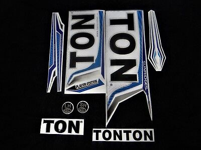 *3D/embossed!* Latest Model Ton Player Edition Cricket Bat Stickers [Sale!!]