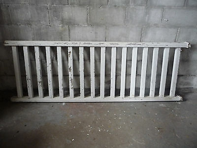 Antique Craftsman Style Wood Porch Railing - C. 1910 Fir Architectural Salvage