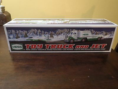 2010 Hess Truck And Jet (Toy). With Lights & Sound.new