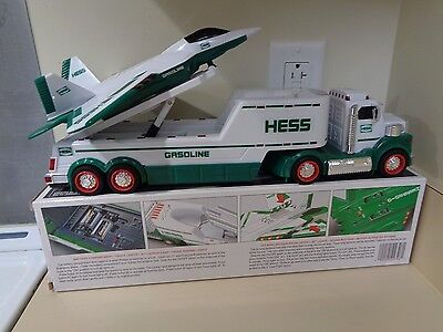 Nib Vintage 2010 Hess Toy Truck & Jet, In Original Box, Tested