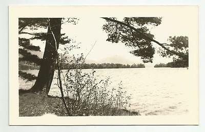 c1930's Crown Point Lake Champlain NY New York RPPC Real Photo Postcard