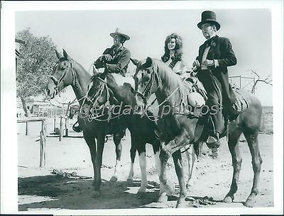 1968 Bandolero Original Press Photo Printed 1971 Dean Martin Raquel Welch