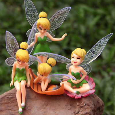 WL 6PCS Fairy Miniature Figurine Garden Ornament Plant Pot Dollhouse Mini Decor