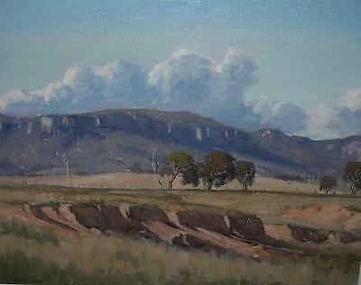 Les Graham ~ Splendid Original Oil Painting ~ Capertee Valley, Nsw