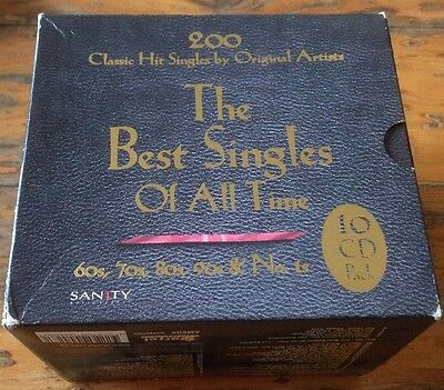 The Best 200 Singles Of All Time 10 CD Box Set