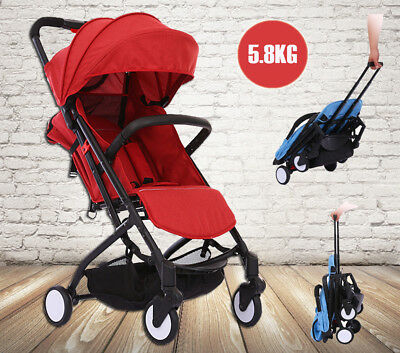 Baby Foldable Umbrella Stroller Lightweight Travel Pram Toddler Kids Pushchair