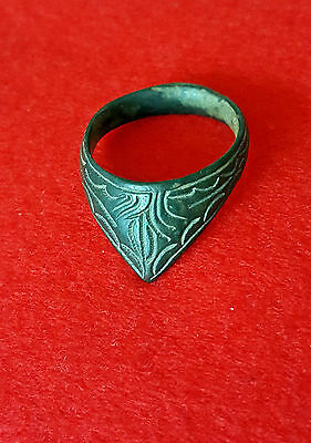 ANCIENT ROMAN :  Marvelous and stunning   Archer's Thumb Ring