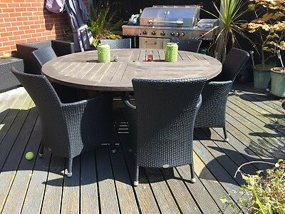 Alexandra rose garden table and chairs