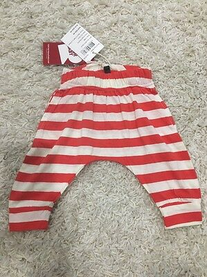 Rock Your Baby Red Striped Slouch Pants Size 00