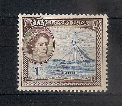 Gambia 1953  * Mh - Boats  - 6/1