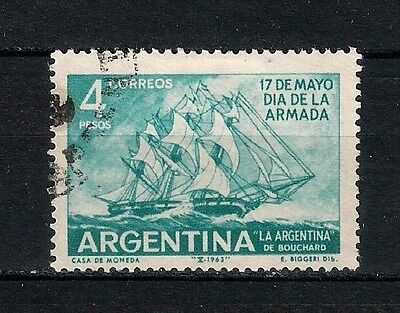 Argentina  1963  Used - Boats  - 6/1