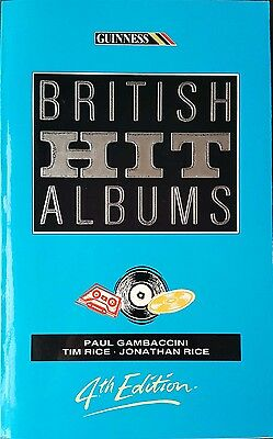 Guinness Book of British Hit Albums 4th Edition Paperback Book
