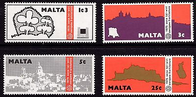 Malta 1975 European Architecture Year Complete Set SG 545 - 8 Unmounted Mint