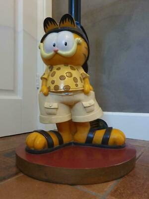 Extremely Rare! Garfield Lifesize Table Figurine Statue