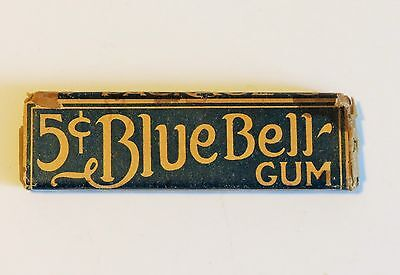 Vintage Stick of Blue Bell Chewing Gum
