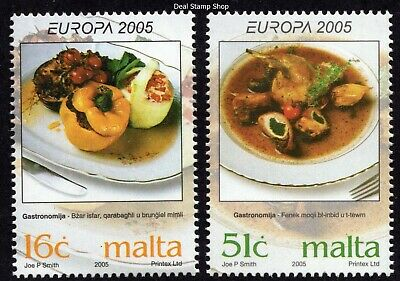 Malta 2005 Gastronomy / Cooking Complete Set SG 1428 - 1429 Unmounted Mint