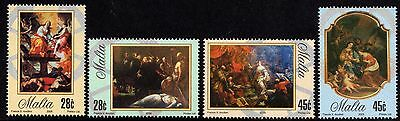 Malta 2005 St. Catherine in Art Complete Set SG 1432 - 1435 Unmounted Mint