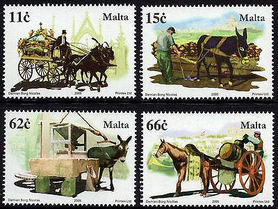 Malta 2005 Horses / Equines Complete Set SG 1440 - 1444 Unmounted Mint