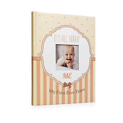 Normson First and Five Year Baby Memory and Record Book Journal Photo Album S...