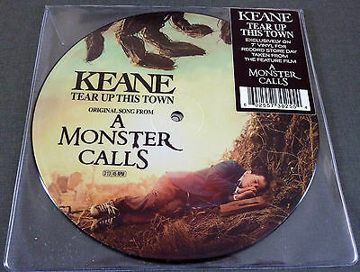 """NEU RSD 2017 7"""" PICTURE Vinyl KEANE Tear Up This Town A Monster Calls + Download"""