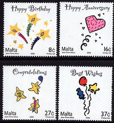 2006 Malta Occasions Complete Set SG 1495 - 1498 Unmounted Mint