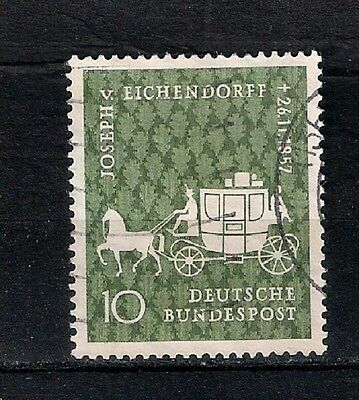 GERMANY 1957  USED - stagecoach  - 6/2