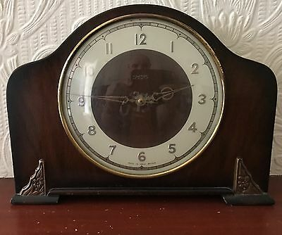 Smiths  8 Day Mantle Clock, Full Working Order