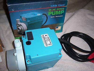 Little Giant 3E-34N  Dual-Purpose Submersible Utility Misc Pump 11.1 GPM 1/15 HP