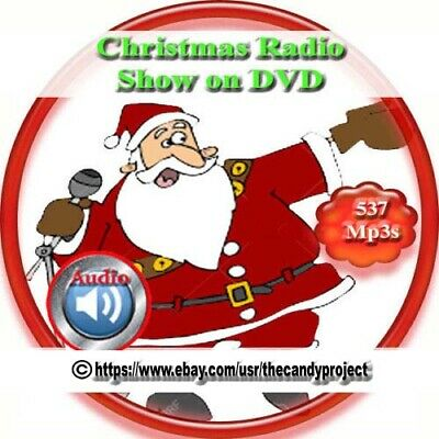 christmas radio shows 537 episodes mp3 old time radio shows audio dvd - Old Time Radio Christmas