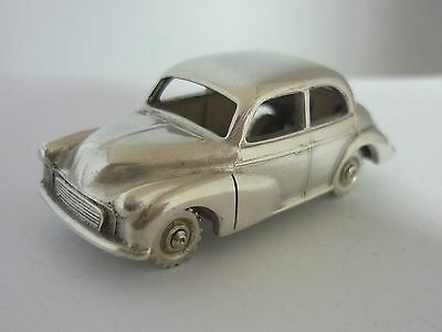Stunning Very Rare Vintage Sterling Silver Morris Minor Saloon Car Model/statue