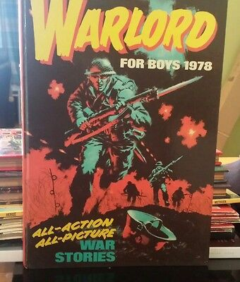 WARLORD ANNUAL BOOK FOR BOYS ANNUAL 1978  Excellent Condition