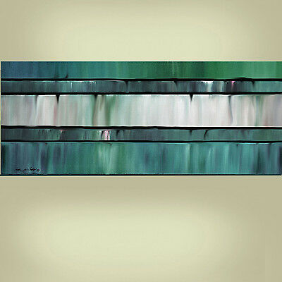 ORIGINAL PAINTING Large 24X48 Impasto Abstract Modern Fine Art By Thomas John