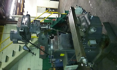 """Seiki - XL Mill  Model 3VX 1997 With Readout Table is 50"""" X 10""""  Bridgeport type"""