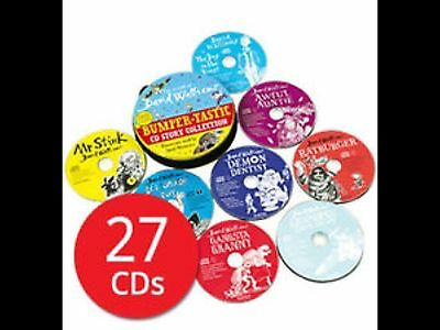 The World of David Walliams Story Collection Audio Books 27 CD Set Tin NEW Pack