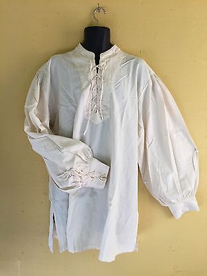Renaissance Shirt, Cotton, Rogue, Re-Enactor, Sass, Steampunk, Cosplay, Sca